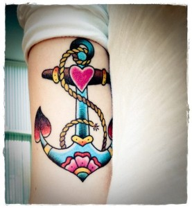 Anchor tattoo meanings